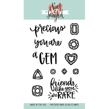 Neat and Tangled YOU'RE A GEM Clear Stamp Set