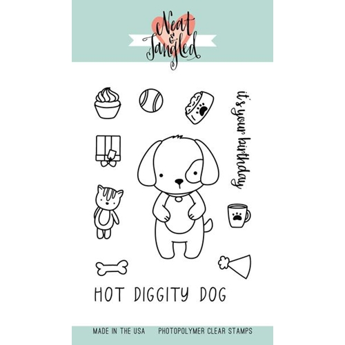 Neat and Tangled Puppy's Favorite Things Clear Stamp Set