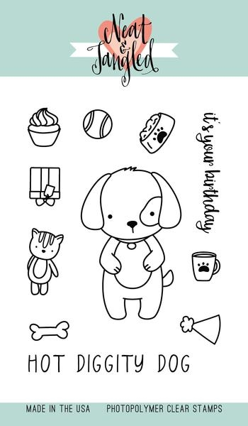 Neat and Tangled PUPPY'S FAVORITE THINGS Clear Stamp Set zoom image