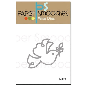 Paper Smooches DOVE Wise Die J3D396