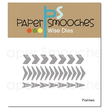 Paper Smooches POINTERS Wise Dies J3D397