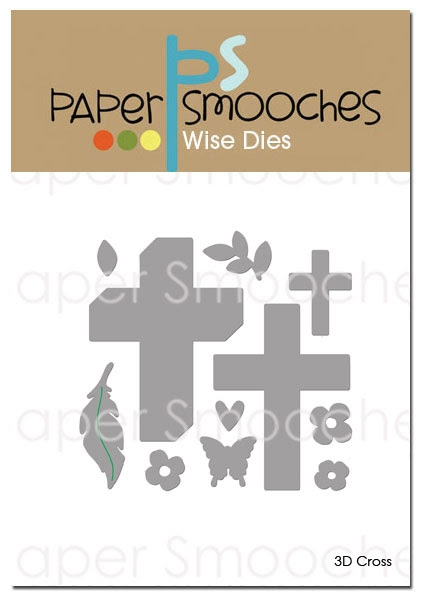 Paper Smooches 3D CROSS Wise Dies J3D394 zoom image