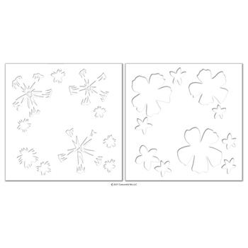 Concord & 9th ALOHA FILL-IN Stencils 10227
