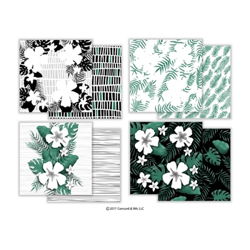 Concord & 9th ALOHA FILL-IN 6x6 Patterned Paper 10225