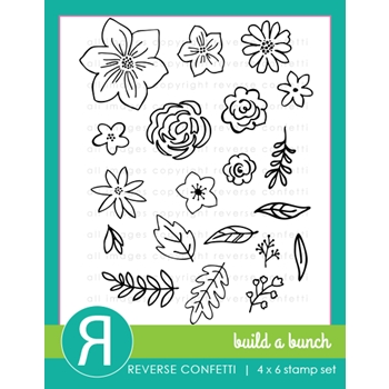 Reverse Confetti BUILD A BUNCH Clear Stamp Set