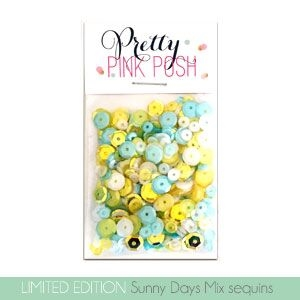 Pretty Pink Posh SUNNY DAYS Mix Sequins
