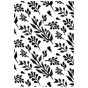 Kaisercraft FOLIAGE Embossing Folder 4x6 Inches EF269