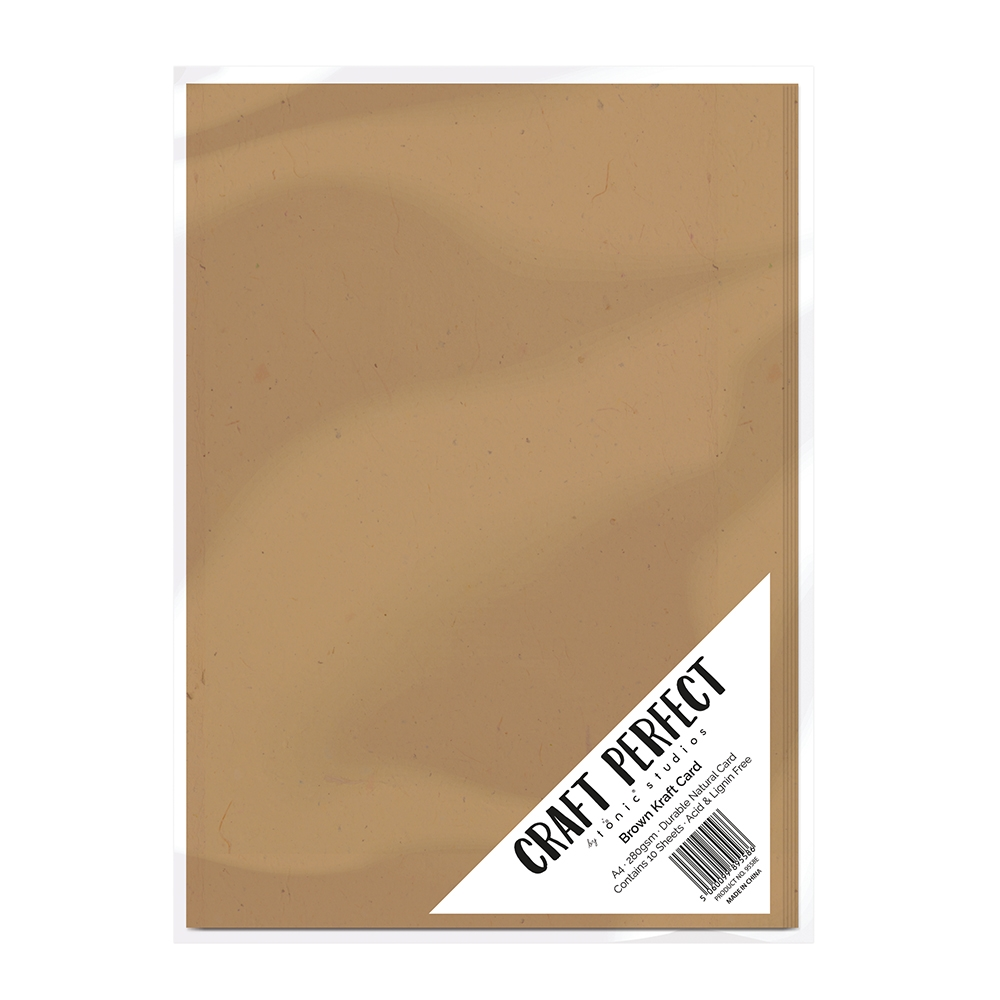 Tonic BROWN KRAFT CARD Craft Perfect Cardstock 9558E zoom image
