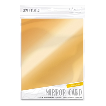 Tonic POLISHED GOLD Mirror Card Cardstock 9451E
