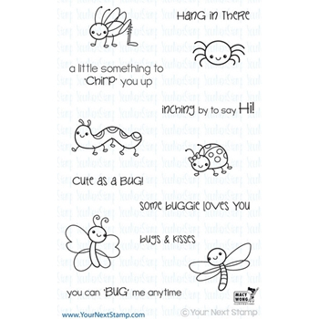 Your Next Stamp BITTY BUGS Clear CYNS129