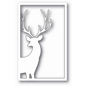 Memory Box REINDEER WINDOW Craft Die 99797