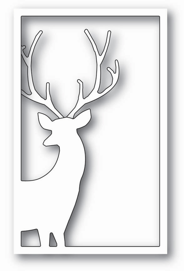 Memory Box REINDEER WINDOW Craft Die 99797 zoom image