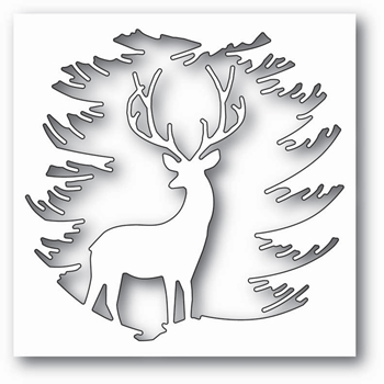 Memory Box EVERGREEN REINDEER Craft Die 99787