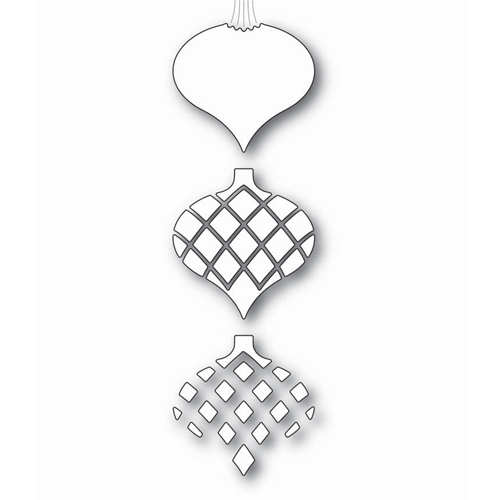 Memory Box CLASSIC ORNAMENT TRIPLET Craft Die 99818 Preview Image