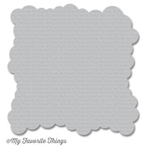 My Favorite Things MINI CLOUD EDGES Mix-ables Stencil MFT ST100 Preview Image