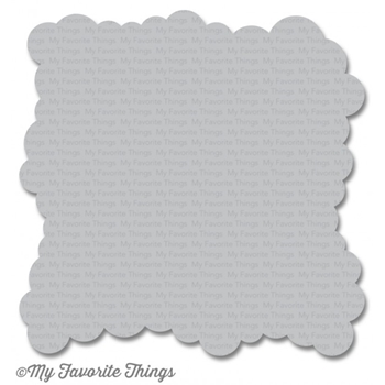 My Favorite Things MINI CLOUD EDGES Mix-ables Stencil MFT ST100