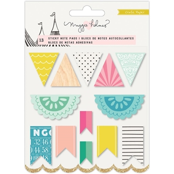 Crate Paper CAROUSEL Sticky Notes 379137