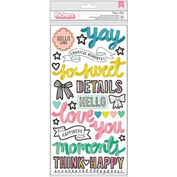 Crate Paper CAROUSEL Thickers Stickers 379117