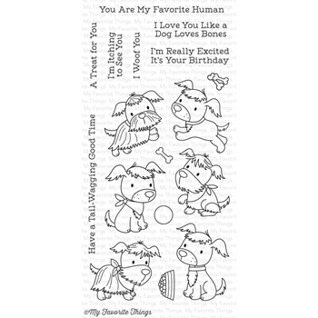 My Favorite Things PUPPY PALS Clear Stamps CS217