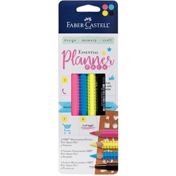 Faber-Castell ESSENTIAL PLANNER PACK Pen, Pencil and Stencil Set 770085