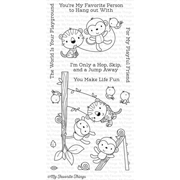 My Favorite Things JUNGLE GYM Clear Stamps CS215