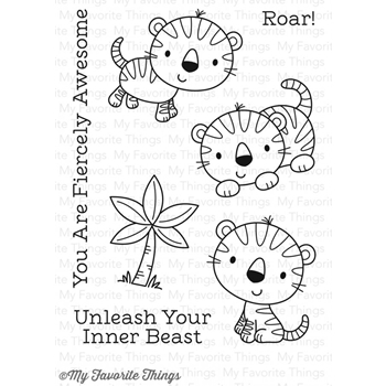 My Favorite Things FIERCE FRIENDS Clear Stamps CS216