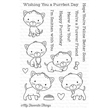 My Favorite Things SMITTEN KITTEN Clear Stamps CS183