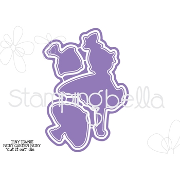Stamping Bella TINY TOWNIE FAIRY GARDEN FAIRY Cut It Out Die CIO530DIE