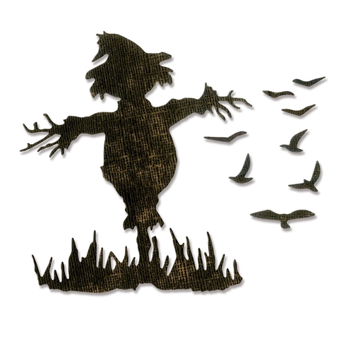Tim Holtz Sizzix SCARECROW Thinlits Die 662382 Preview Image