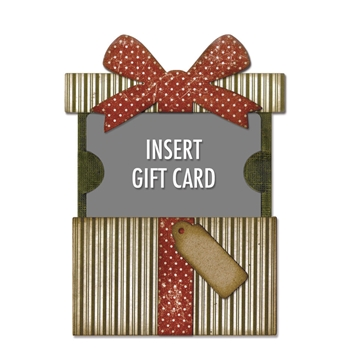Tim Holtz Sizzix GIFT CARD PACKAGE Thinlits Die 662417