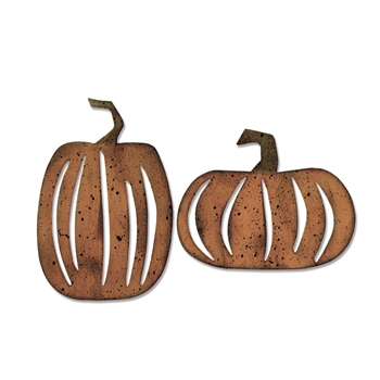 Tim Holtz Sizzix PUMPKIN PATCH Bigz Die 662387