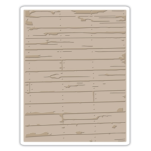 Tim Holtz Sizzix WOOD PLANKS Texture Fades Embossing Folder 662370 Preview Image