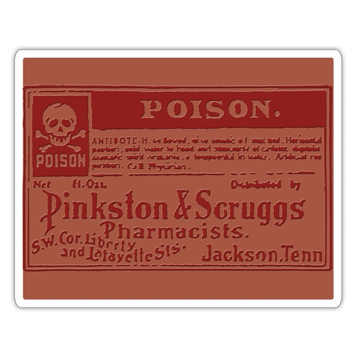 Tim Holtz Sizzix POISON Texture Fades Embossing Folder 662371 Preview Image