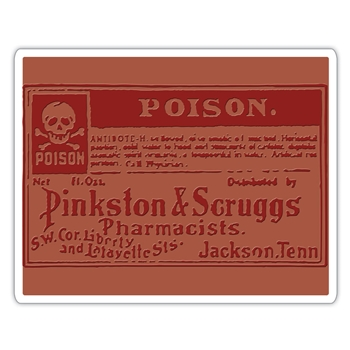 Tim Holtz Sizzix POISON Texture Fades Embossing Folder 662371