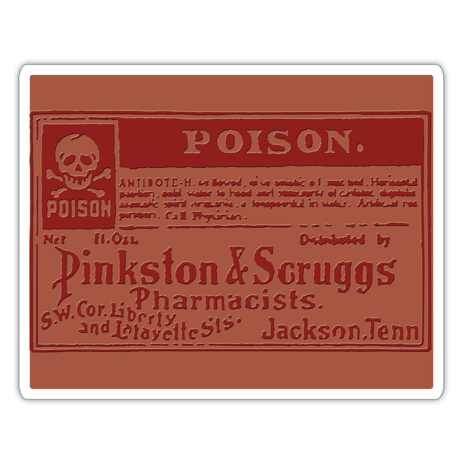 Tim Holtz Sizzix POISON Texture Fades Embossing Folder 662371 zoom image