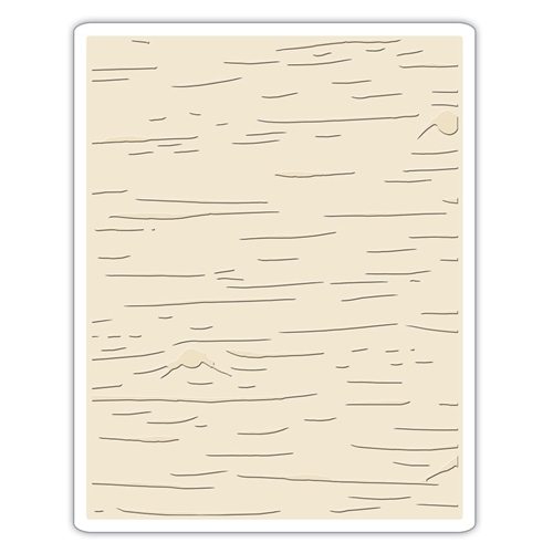 Tim Holtz Sizzix BIRCH Texture Fades Embossing Folder 662431 Preview Image
