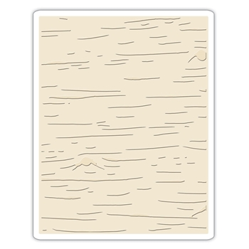 Tim Holtz Sizzix BIRCH Texture Fades Embossing Folder 662431