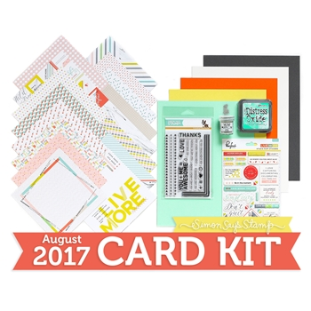 Simon Says Stamp Card Kit of The Month AUGUST 2017 TOGETHER CK0817