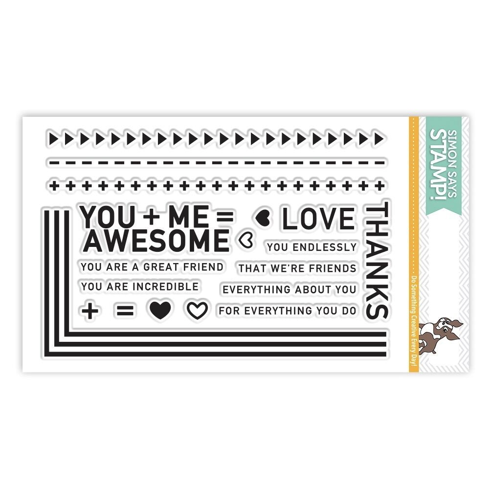 Simon Says Clear Stamps YOU + ME SSS101709 zoom image