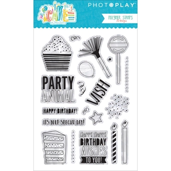 PhotoPlay CAKE ELEMENTS Clear Stamps CK2913