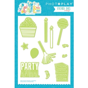 PhotoPlay CAKE ELEMENTS Die Set CK2914