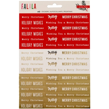 Crate Paper FALALA Phrase Stickers 379056