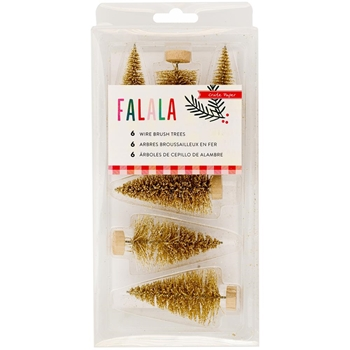 Crate Paper FALALA Brush Trees 379062