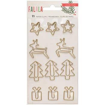 Crate Paper FALALA Gold Wire Shapes 379059