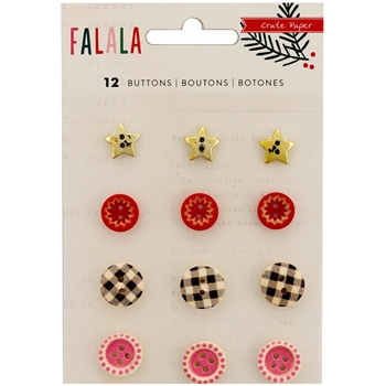 Crate Paper FALALA Buttons 379064