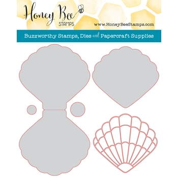 Honey Bee SEASHELL CARD Dies HBDSSSC