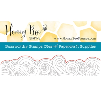 Honey Bee OCEAN BORDER Die HBDS67