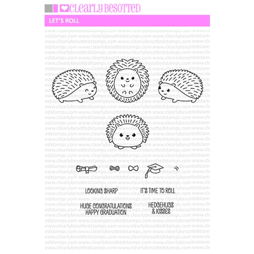 Clearly Besotted LET'S ROLL Clear Stamp Set Preview Image