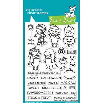 Lawn Fawn COSTUME PARTY Clear Stamps LF1458
