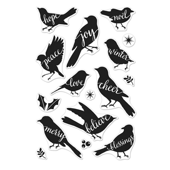 Hero Arts Clear Stamp BIRD WORD CM181